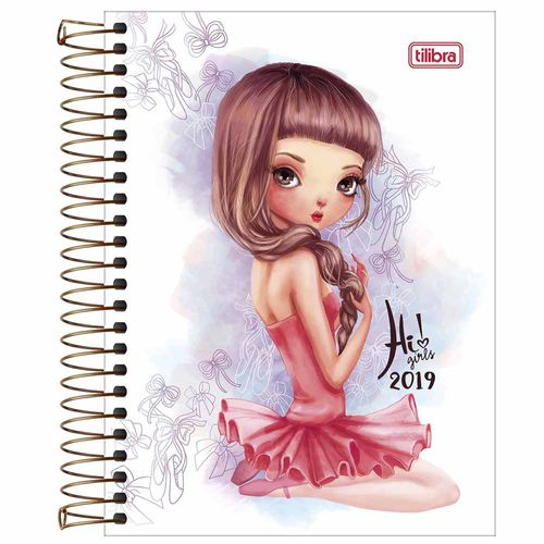 Agenda-2019-Tilibra-Hi--Girls-Vestido
