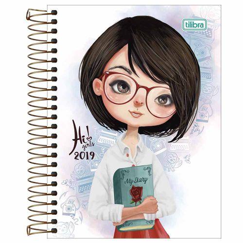 Agenda-2019-Tilibra-Hi--Girls-Livro
