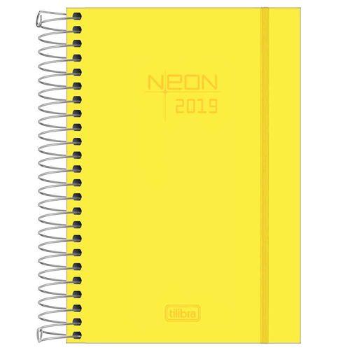 Agenda-2019-Tilibra-Neon-Amarela