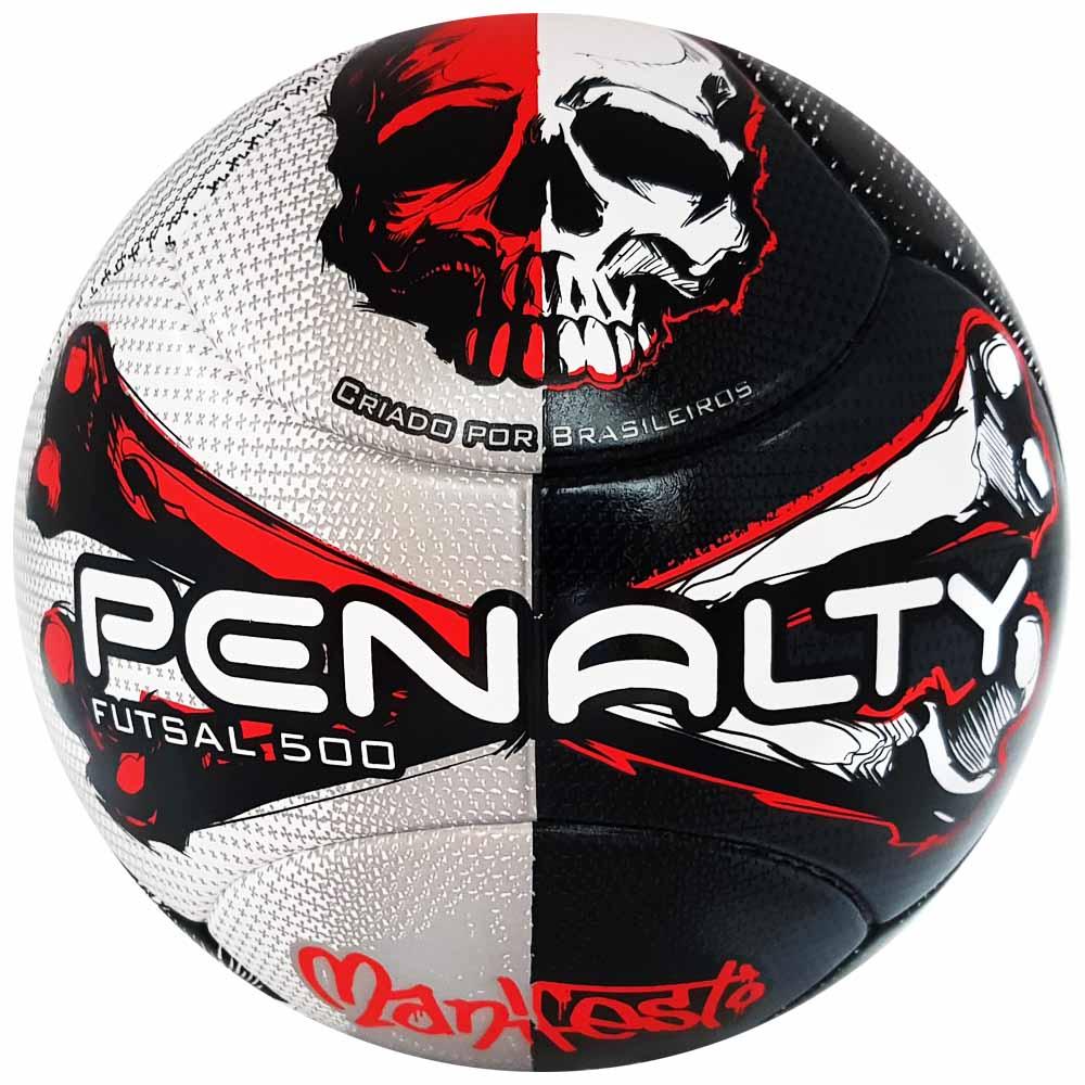 Bola de Futsal Penalty Oficial 500 Ultra Fusion Manifesto - costaatacado 84ba152dc1538