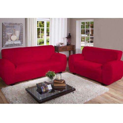 Capa-para-Sofa-Malha-Gel-Vermelha-Arte---Cazza