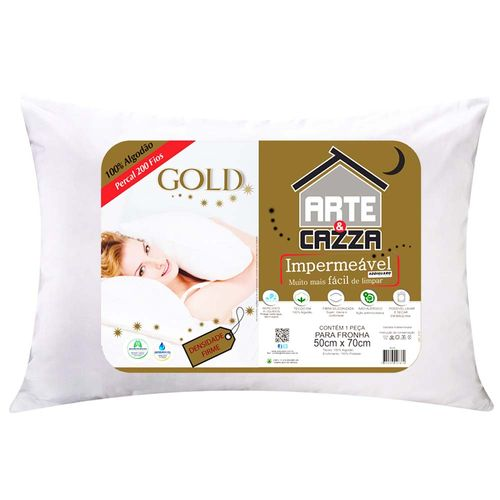 Travesseiro-200-Fios-Percal-Gold-Impermeavel-Arte---Cazza