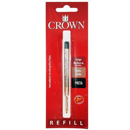 Carga-para-Caneta-Crown-CA14007P-Preta