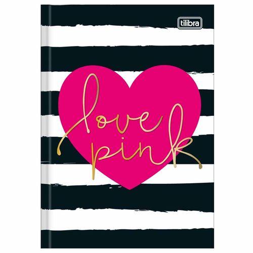 Caderno-Brochura-14-Love-Pink-96-Folhas-Tilibra