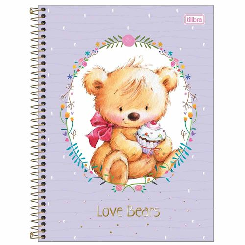 Caderno-Universitario-Love-Bears-10-Materias-Tilibra