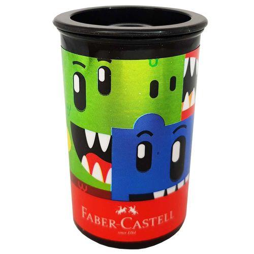 Apontador-com-Deposito-Monster-Puzzle-Faber-Castell