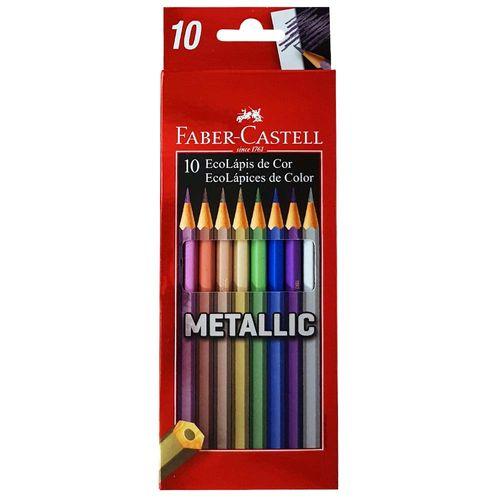 Lapis-de-Cor-10-Cores-Metallic-Faber-Castell