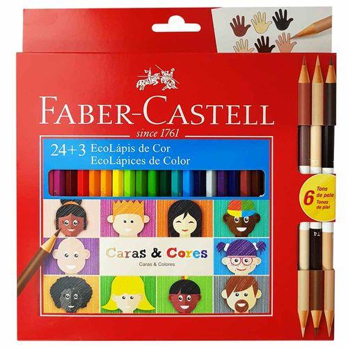 Lapis-de-Cor-24-Cores-Caras-e-Cores-Faber-Castell