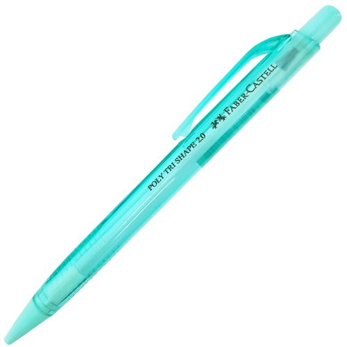 Lapiseira-Faber-Castell-2.0-Poly-Tri-Shape-Verde-Agua