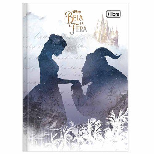 Caderno-Brochura-14-A-Bela-e-a-Fera-80-Folhas-Tilibra