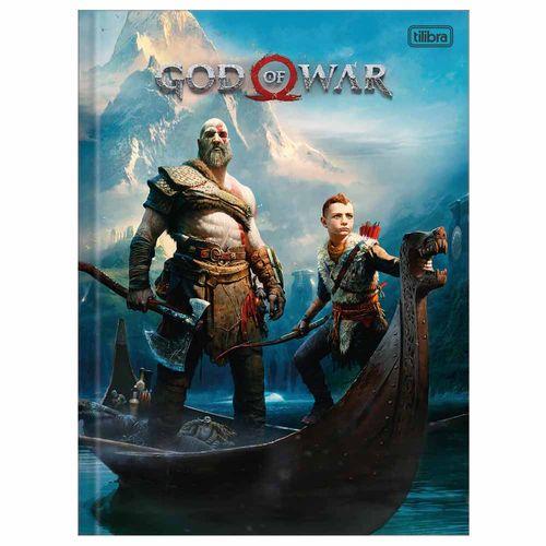 Caderno-Brochurao-God-of-War-96-Folhas-Tilibra