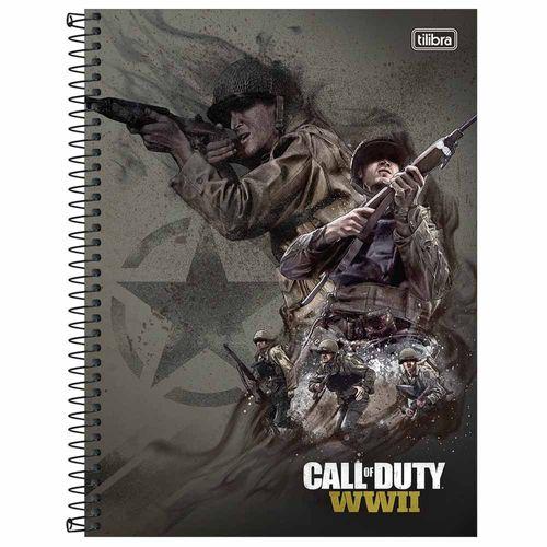 Caderno-Universitario-Call-of-Duty-10-Materias-Tilibra