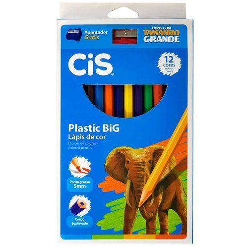 Lapis-de-Cor-12-Cores-Plastic-Big-Jumbo-Cis