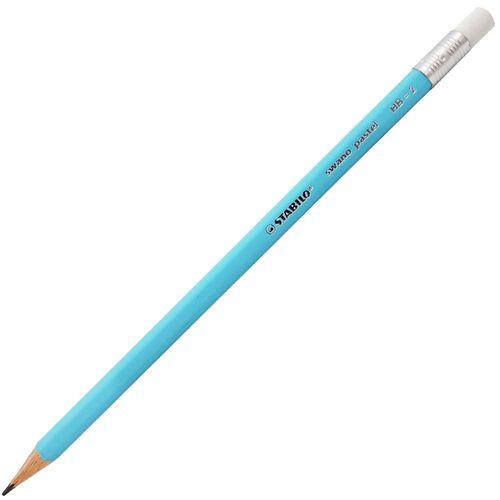 Lapis-Preto-Stabilo-Swano-Pastel-Azul-HB2