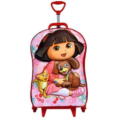 Mochila-de-Rodinha-3D-Dora-Pets-com-Lancheira-Maxtoy