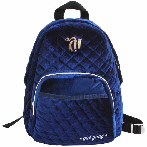 Mochila-Escolar-Capricho-Girl-Gang-Azul-Dermiwil-11315