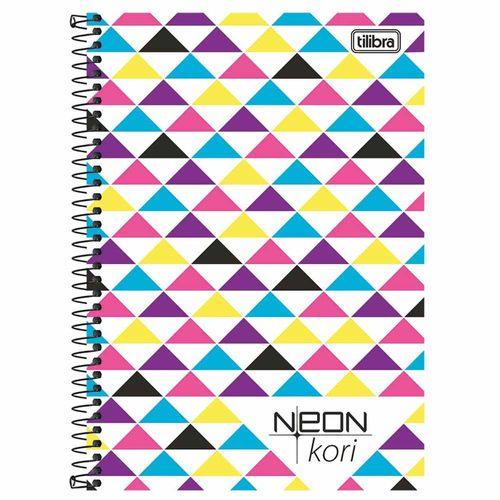 Caderno-14-Neon-Kori-96-Folhas-Tilibra