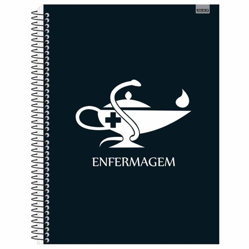 Caderno-Universitario-Enfermagem-1-Materia-Tilibra