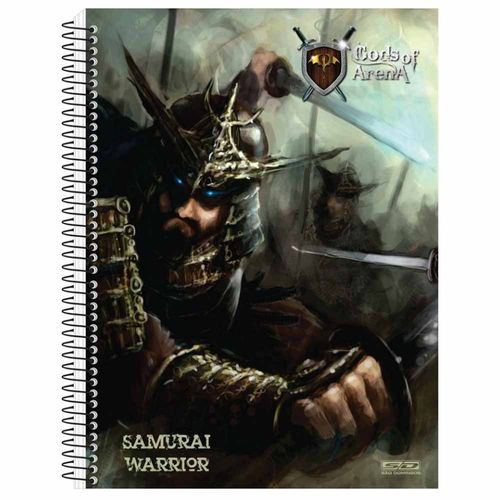 Caderno-Universitario-Gods-of-Arena-10-Materias-Sao-Domingos