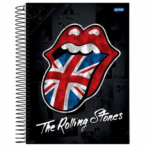 Caderno-Universitario-Rolling-Stones-10-Materias-Jandaia