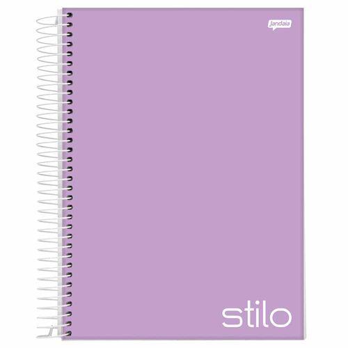 Caderno-Universitario-Stilo-Lilas-10-Materias-Jandaia