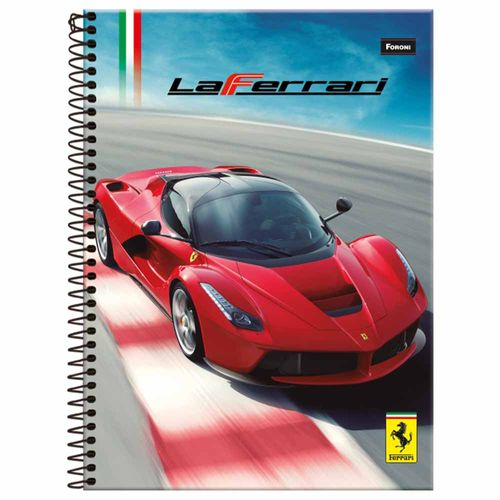 Caderno-14-Ferrari-96-Folhas-Foroni