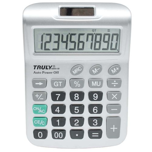 Calculadora-de-Mesa-Truly-6001-10-Digitos