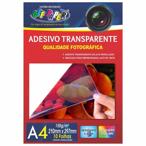 Papel-Adesivo-A4-Transparente-150g-Off-Paper-10-Folhas