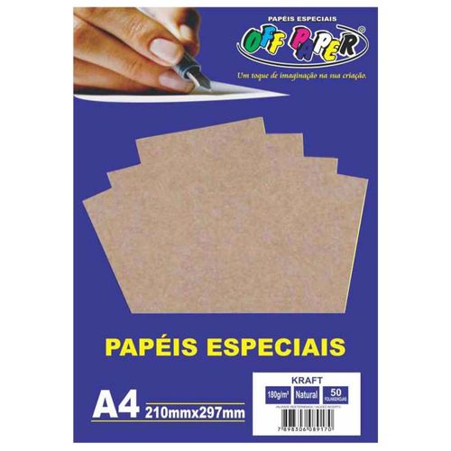 Papel-Kraft-A4-Natural-180g-Off-Paper-50-Folhas