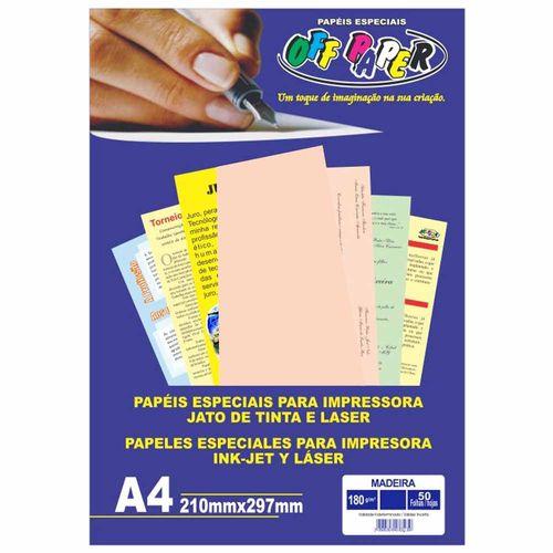Papel-Madeira-A4-Salmao-180g-Off-Paper-50-Folhas