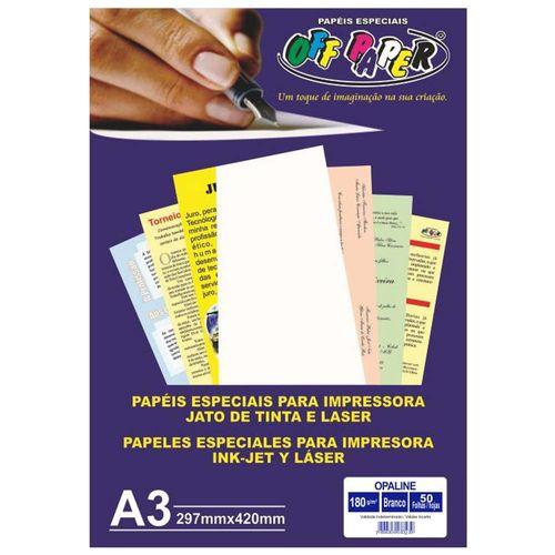 Papel-Opaline-A3-Branco-180g-Off-Paper-50-Folhas