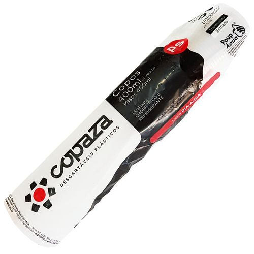 Copo-Descartavel-400ml-Translucido-Copaza-50-Unidades