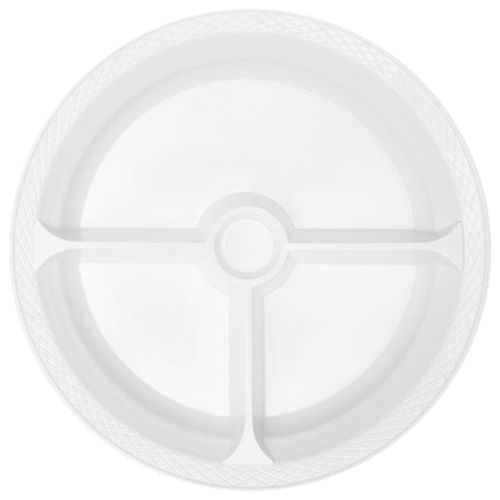Prato-Descartavel-24cm-Branco-Copaza-10-Unidades