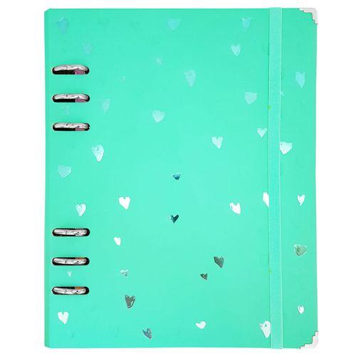 Caderno-Romantic-Planner-A5-Verde-Otima
