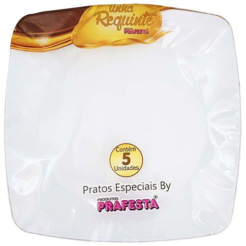 Prato-Descartavel-15cm-Requinte-Prafesta-5-Unidades