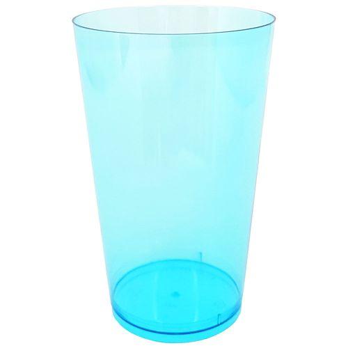 Copo-Descartavel-300ml-Azul-Plastilania-10-Unidades