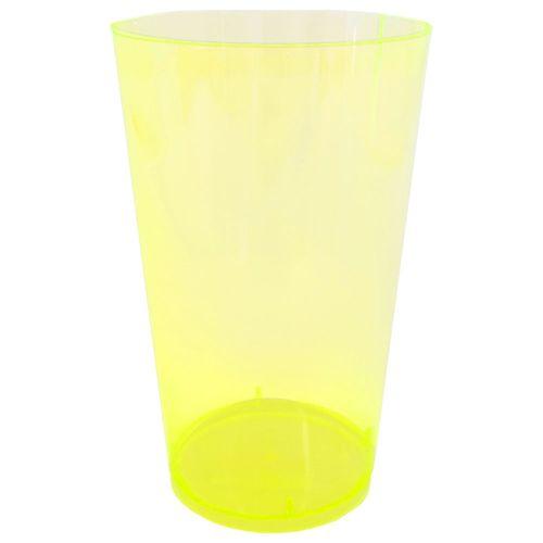 Copo-Descartavel-300ml-Amarelo-Plastilania-10-Unidades