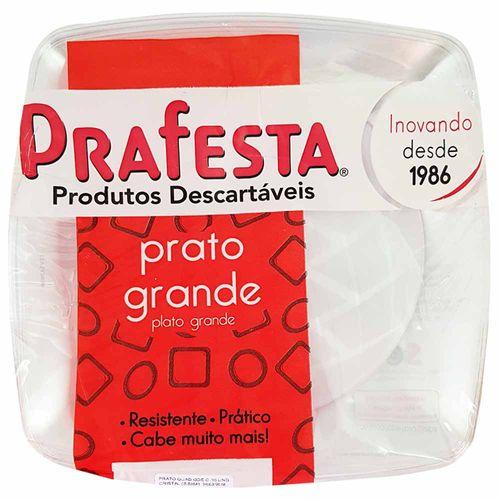 Prato-Descartavel-21cm-Cristal-Prafesta-10-Unidades
