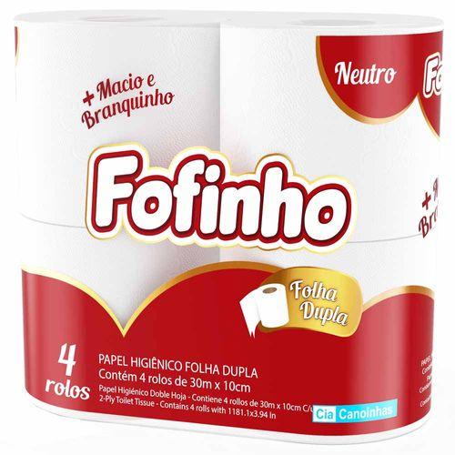 Papel-Higienico-Fofinho-30m-Folha-Dupla-4-Rolos