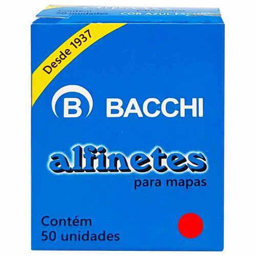 Alfinete-para-Mapa-Vermelho-Bacchi-50-Unidades