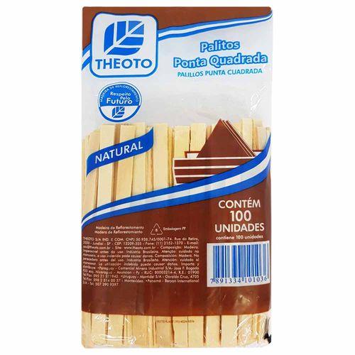 Palito-de-Sorvete-Madeira-Quadrado-Theoto-100-Unidades