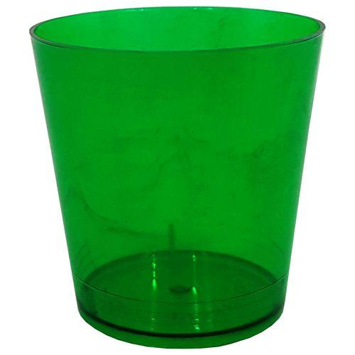 Copo-Descartavel-25ml-Verde-Escuro-Plastilania-10-Unidades