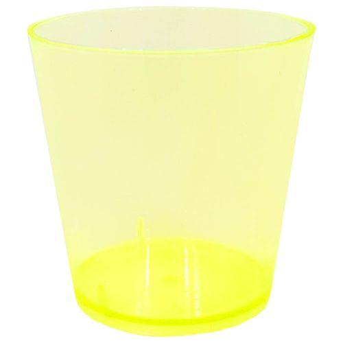 Copo-Descartavel-25ml-Amarelo-Plastilania-10-Unidades