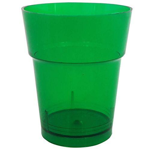 Copo-Descartavel-10ml-Verde-Escuro-Plastilania-50-Unidades