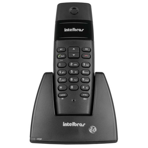 Telefone-Sem-Fio-Preto-Intelbras-Ts-40