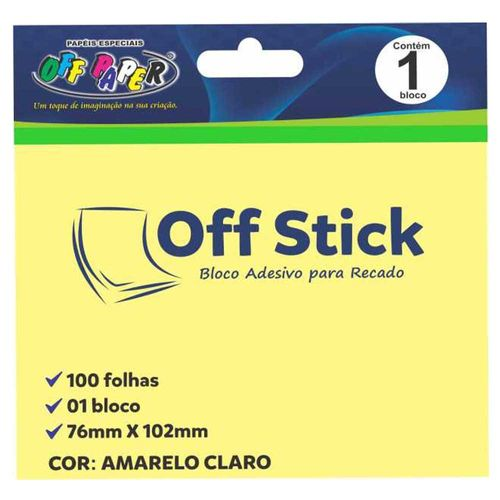 Bloco-Adesivo-Off-Stick-76x102-Amarelo-100-Folhas