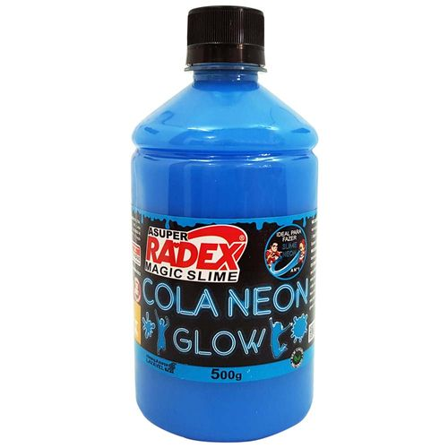 Cola-para-Slime-Neon-500g-Azul-Radex