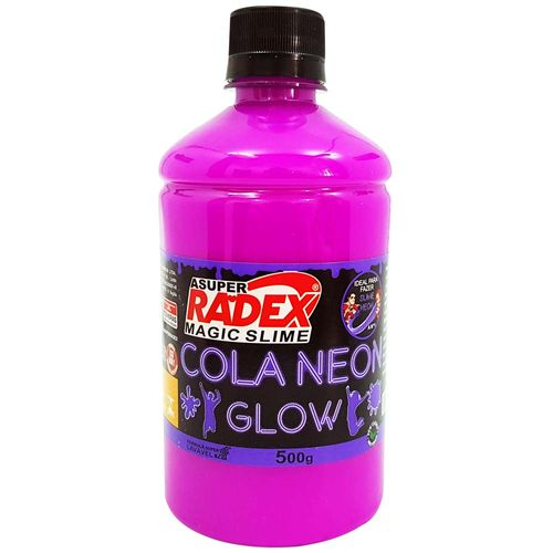 Cola-para-Slime-Neon-500g-Roxa-Radex
