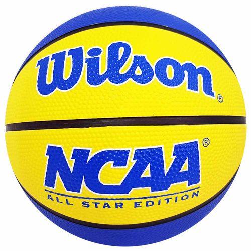 Bola-de-Basquete-Wilson-NCAA-Mini-Amarela-e-Azul