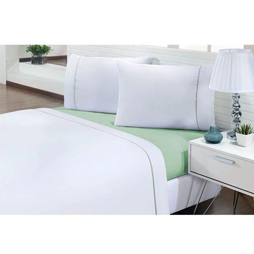 Jogo-de-Cama-Queen-200-Fios-Prime-One-Verde-Textil-Lar